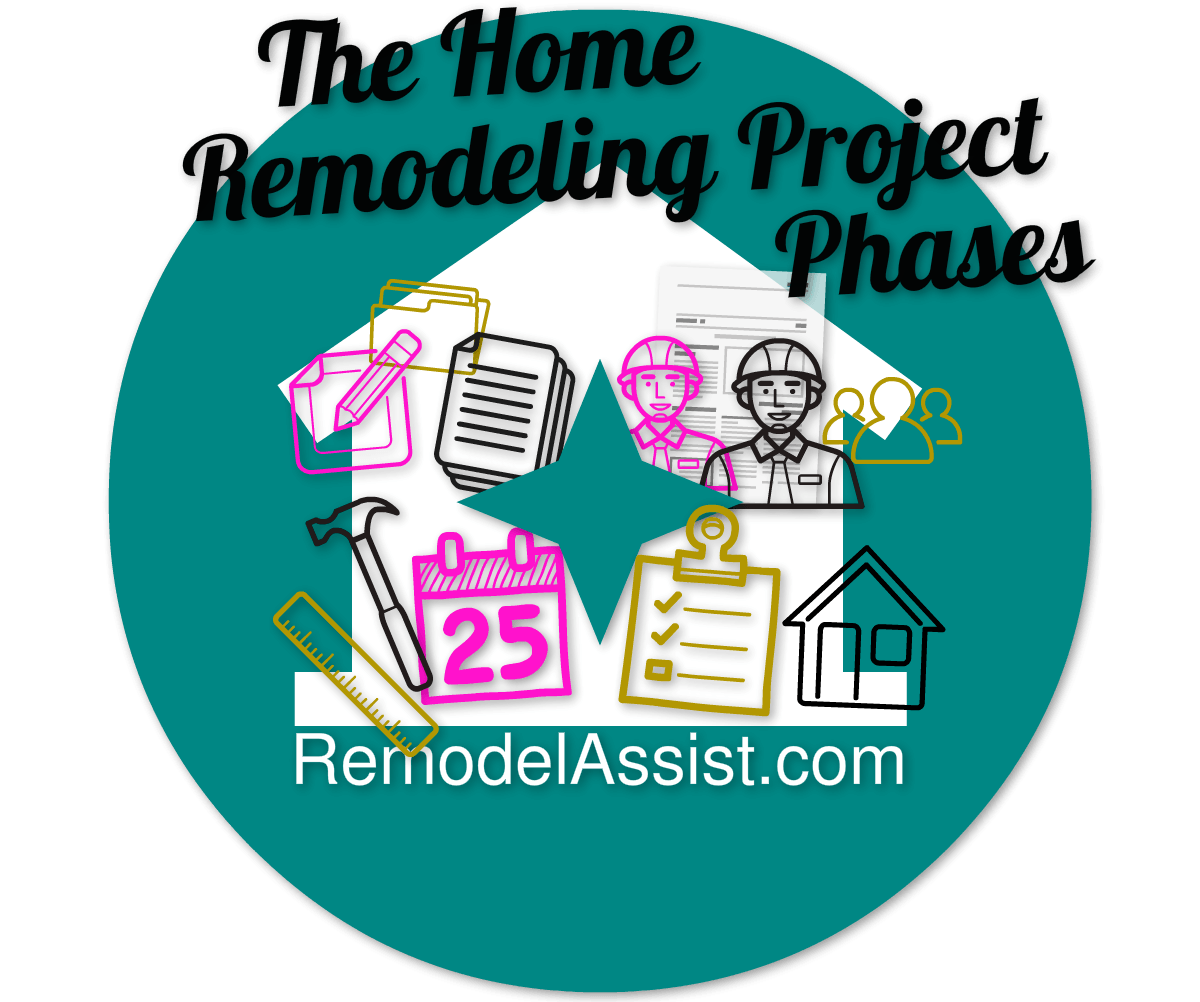 image of the home renovation project phases